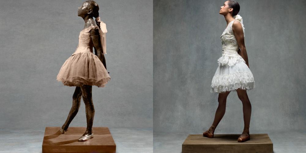 """Як неймовірно гарна балерина """"оживила"""" картини відомого імпресіоніста  - фото 7"""