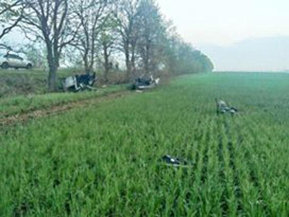 На Миколаївщині перевернувся Daewoo: пасажир загинув на місці ДТП