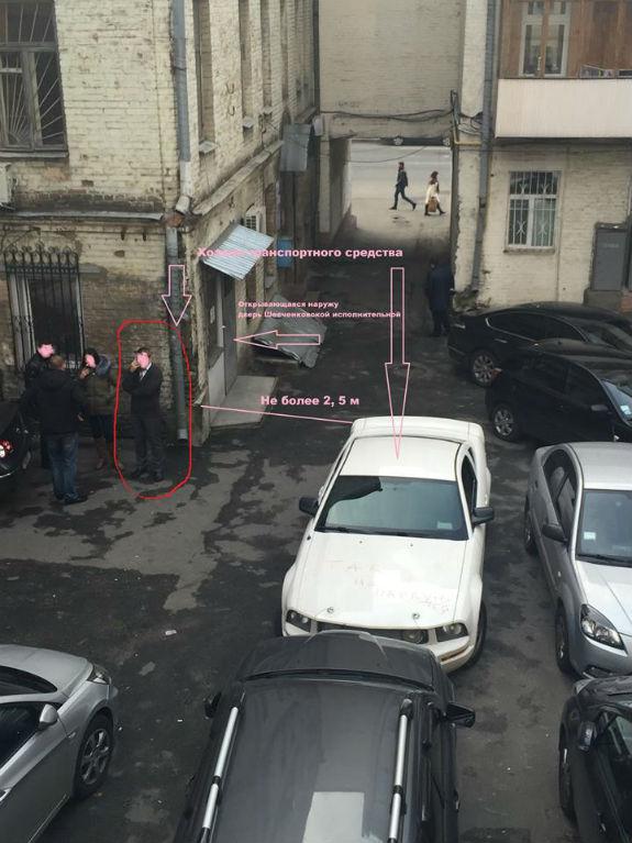 У Києві дівчина помадою покарала жлоба на спортивній машині  - фото 2