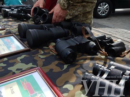 Прикордонники показали вінничанам свої девайси - фото 1