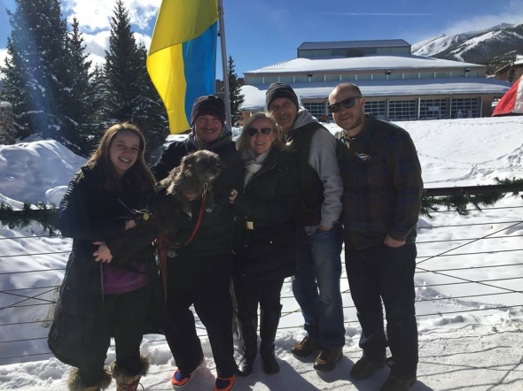 Американські українці показали крижаний кулак Путіну - фото 1