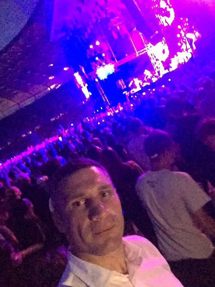 Як Кличко тусувався на концерті Muse - фото 1