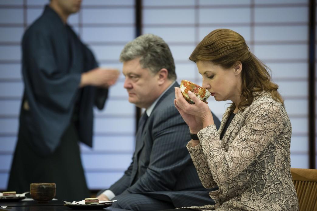 Порошенко почаював з керівниками Японії - фото 2