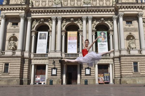 Українські танцівники долучилися до міжнародного проекту Ballerina  - фото 5