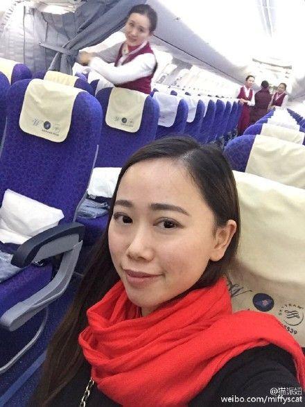 Як найвезуча китаянка летіла одна у величезному Boeing - фото 2