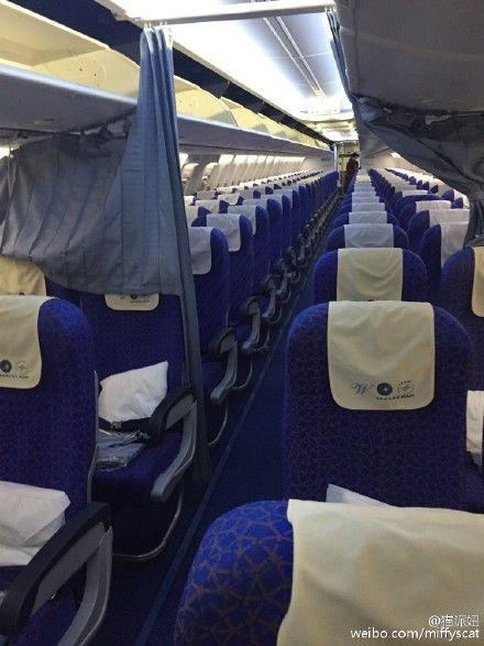 Як найвезуча китаянка летіла одна у величезному Boeing - фото 1