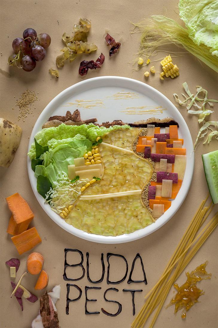 Витвори мистецтва від дівчини, яка любить грати з їжею - фото 7