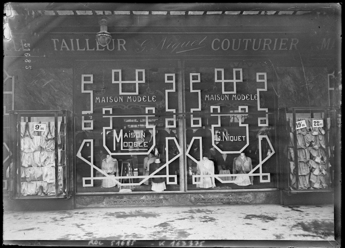 Як століття тому парижани захищали вітрини від німецьких снарядів - фото 9