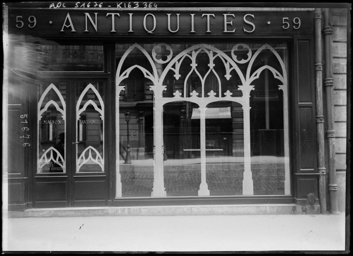 Як століття тому парижани захищали вітрини від німецьких снарядів - фото 6