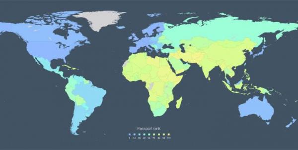 ТОП-104 впливових паспортів: Україна між Еквадором, Фіджі та Мальдівами - фото 1