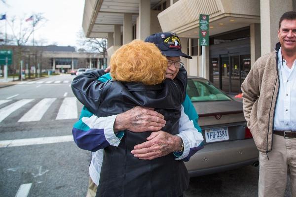 Як через 70 років ветеран Другої світової війни знайшов кохану - фото 1