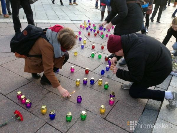 """Як на Майдані """"ганьбили"""" Путіна - фото 3"""