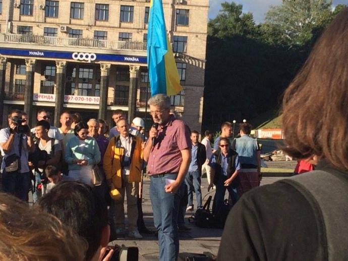 У Києві на Майдані почалась акція пам'яті Павла Шеремета - фото 1