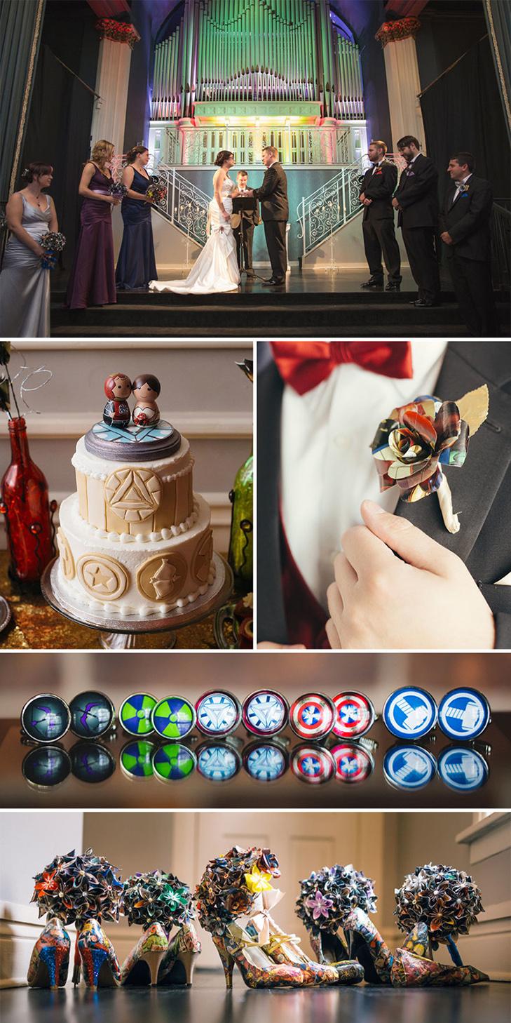 20 найкрутіших тематичних весіль - фото 18