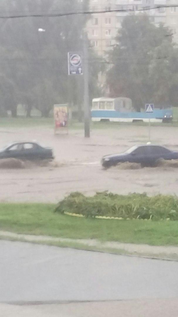 Харків накрила потужна злива (ВІДЕО, ФОТО)  - фото 5