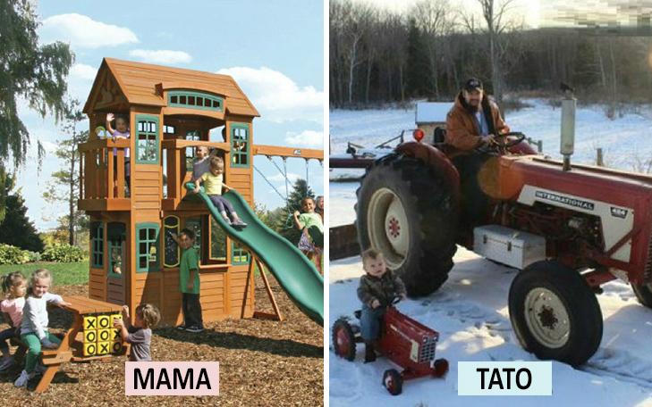 Мама Vs Тато: Як по-різному можна виховувати дитину  - фото 13