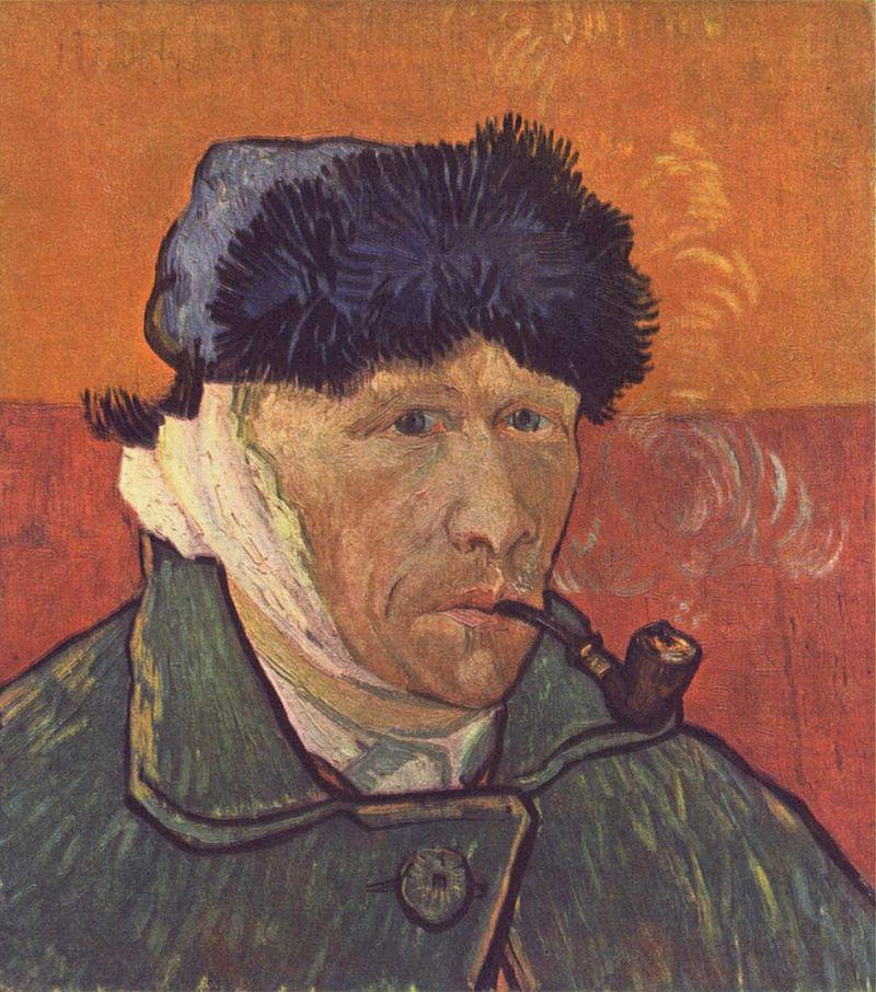 Вухо Ван Гога у мистецтві - фото 1