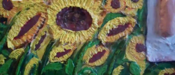 Художник продає свої картини, аби купити спорядження та піти в АТО - фото 2