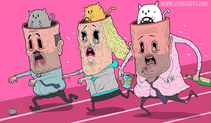 25 ілюстрацій про те, що наш світ божеволіє - фото 2