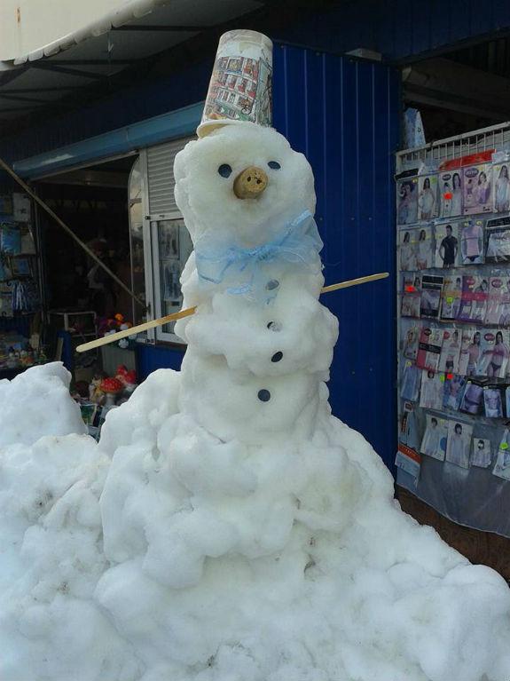 ТОП-5 найгарніших сніговиків Києва - фото 2