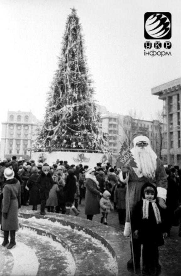 Як змінювалася головна новорічна ялинка України протягом півстоліття - фото 6