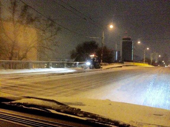 Як Київ замело снігом  - фото 1