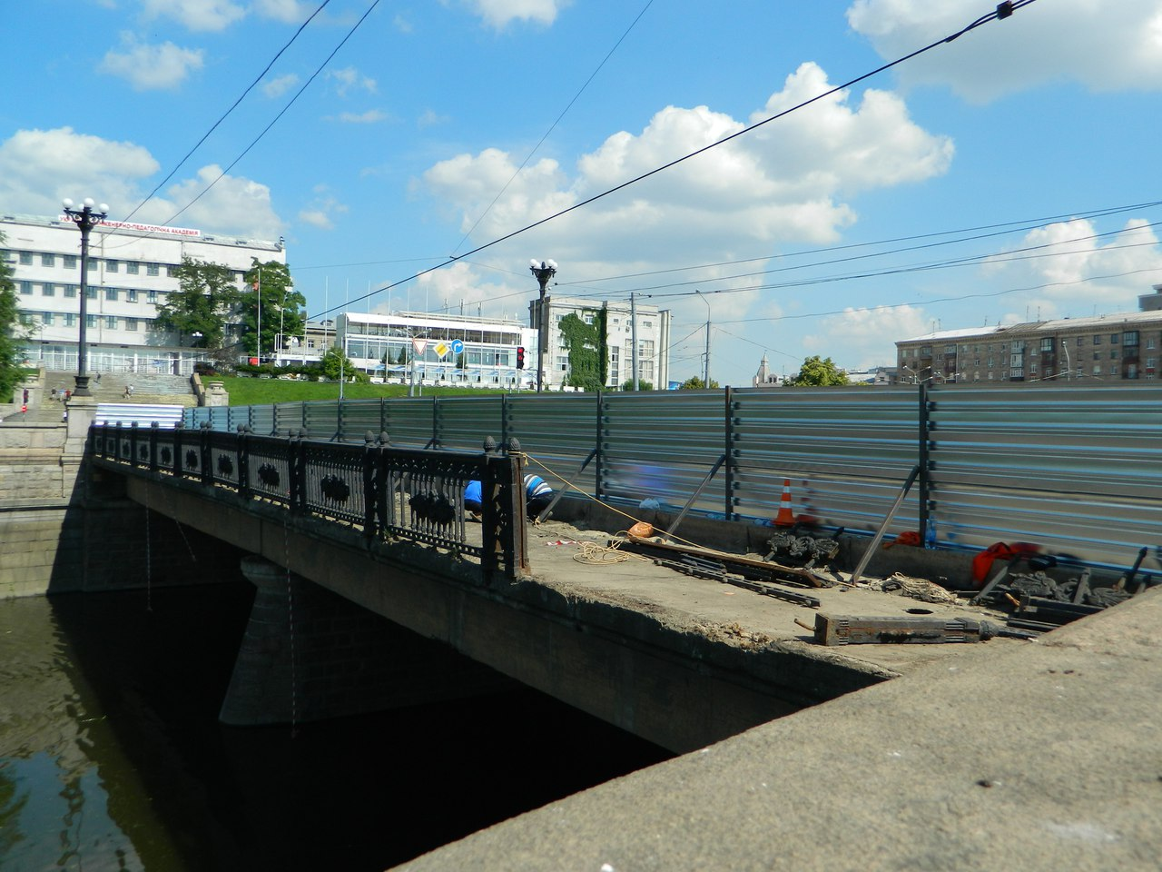 У Харкові через декомунізацію розбирають міст - фото 2