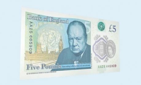 Банк Англії ввів в обіг першу пластикову банкноту - фото 1