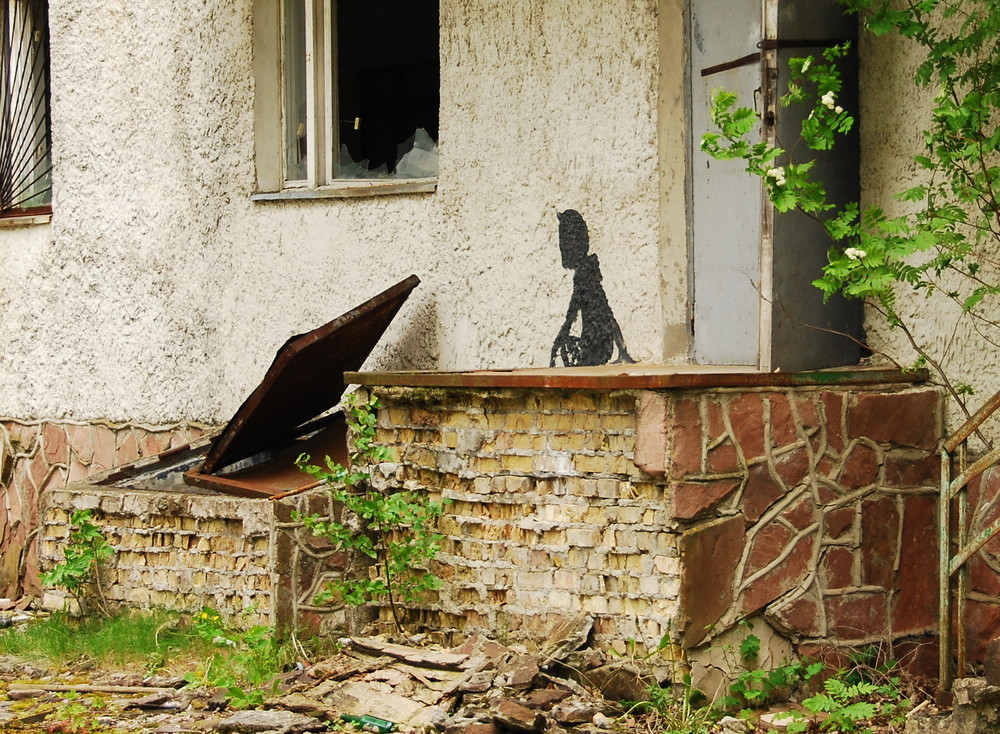 Чорнобиль перетворили на моторошну арт-зону - фото 1