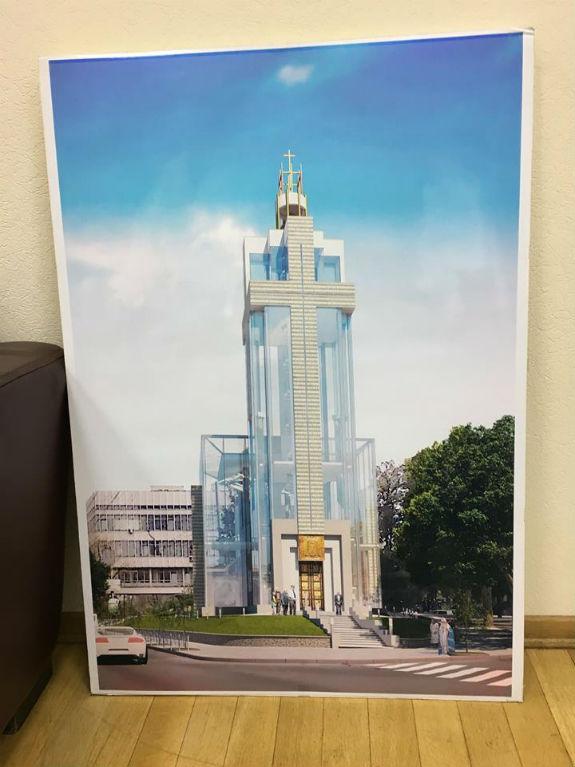 У центрі Києва хочуть побудувати храм заввишки з багатоповерхівку  - фото 1