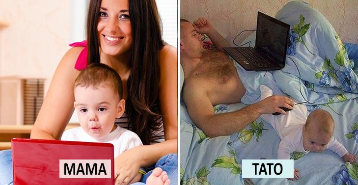 Мама Vs Тато: Як по-різному можна виховувати дитину  - фото 18
