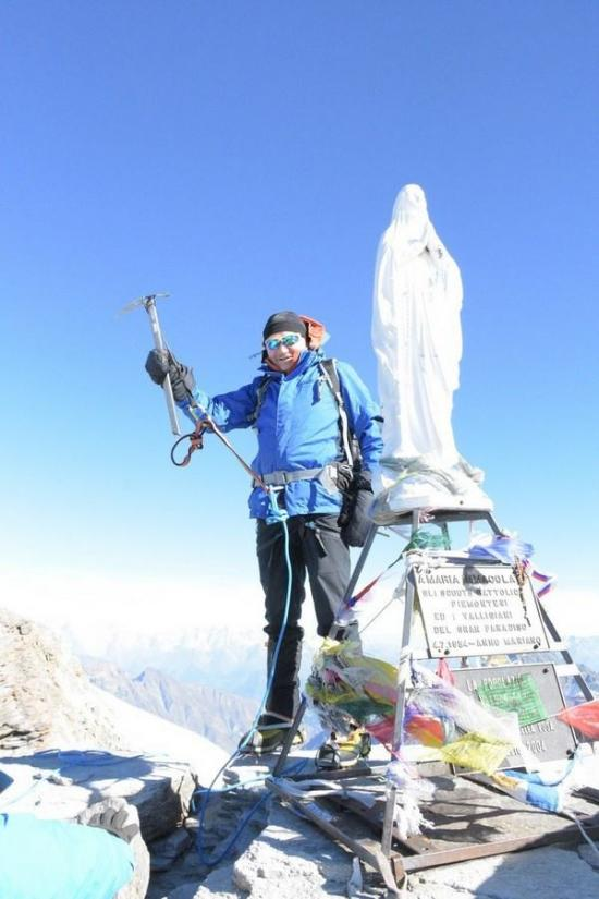 Харківській альпініст підкорив найвищу вершину Італії - фото 4