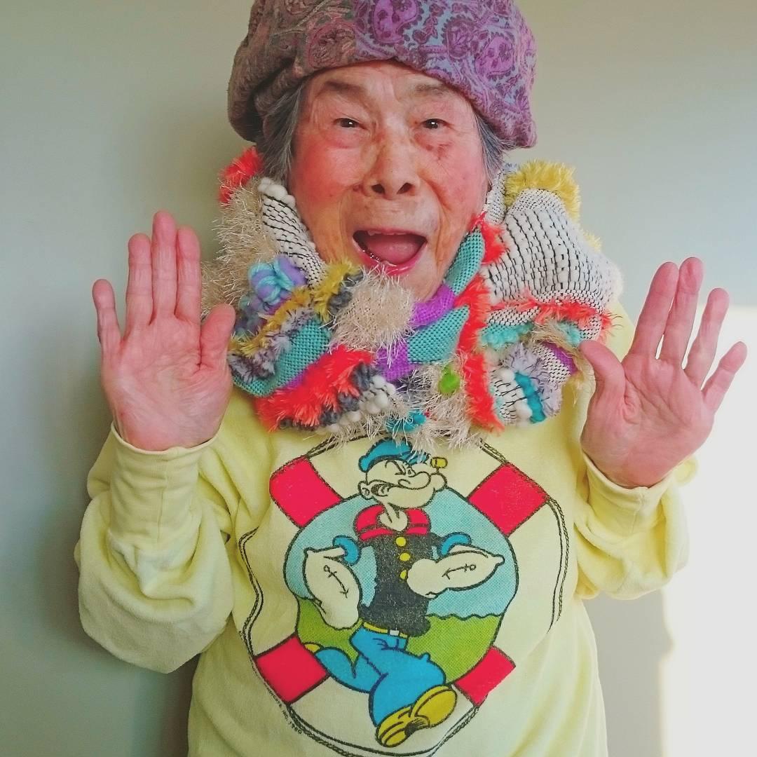 Як 93-річна японка стала моделлю - фото 4