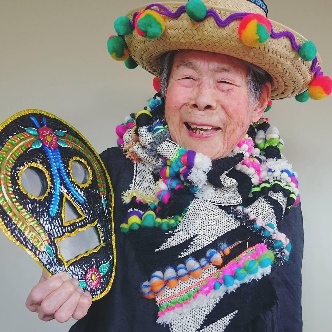 Як 93-річна японка стала моделлю - фото 2