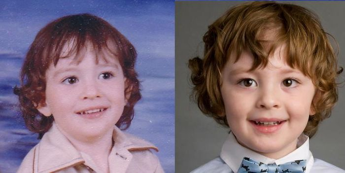 Як діти неймовірно схожі на своїх батьків  - фото 17