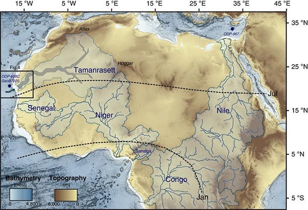 Під пісками Сахари виявили величезну стародавню річку - фото 2