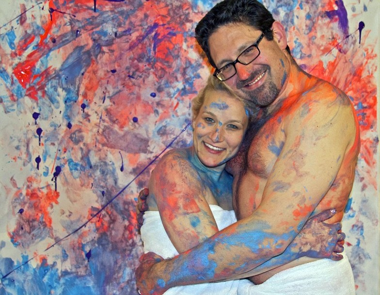 Художник представив серію картин, намальованих під час сексу - фото 2