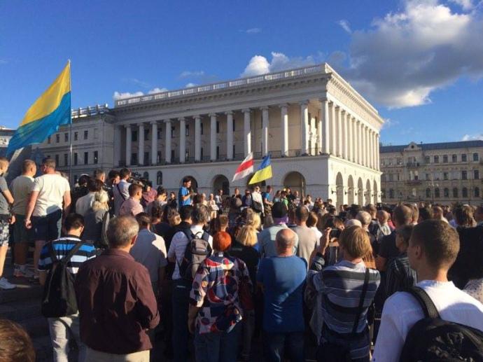 У Києві на Майдані почалась акція пам'яті Павла Шеремета - фото 2