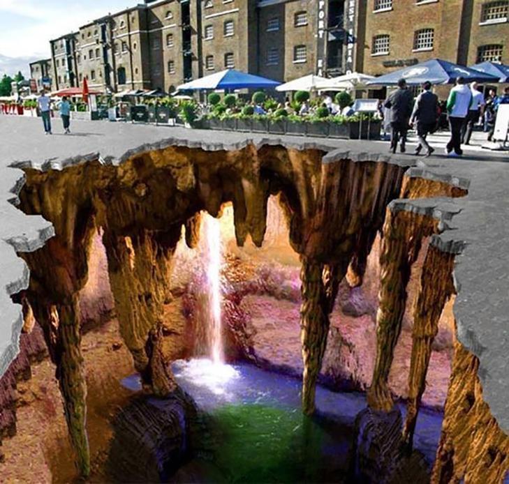 40 неймовірних 3D малюнків на асфальті - фото 12