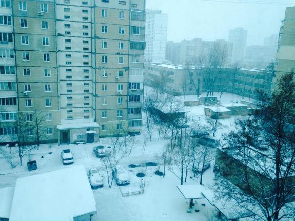 Як Київ замело снігом  - фото 2