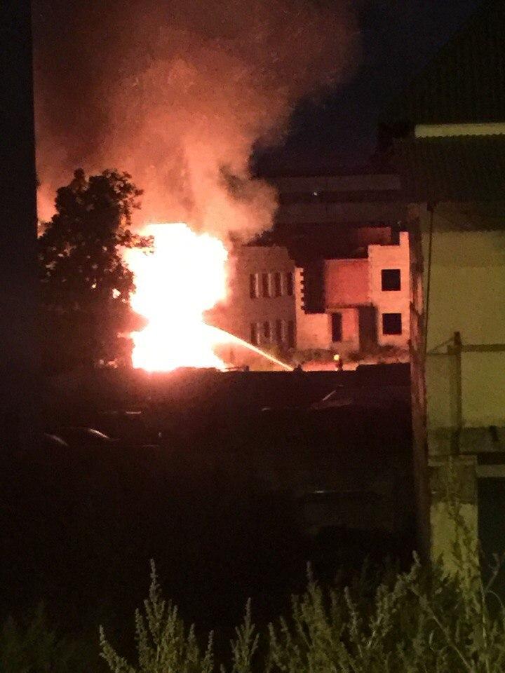На Клочківській сталася пожежа в приватному секторі - фото 1
