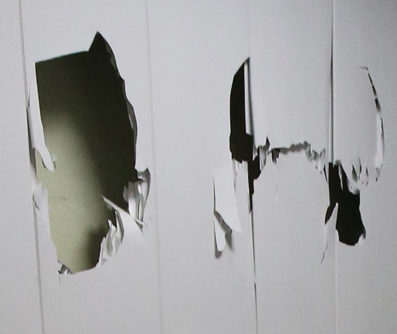 Черкаський баскетболіст розтрощів стіну в миколаївському спорткомплексі