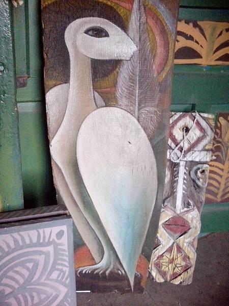 Столичний митець, який поселився у селі, розмальовує хати  - фото 7