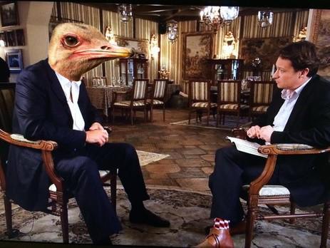 Як Янукович давав інтерв'ю ВВС (ФОТОЖАБИ) - фото 1