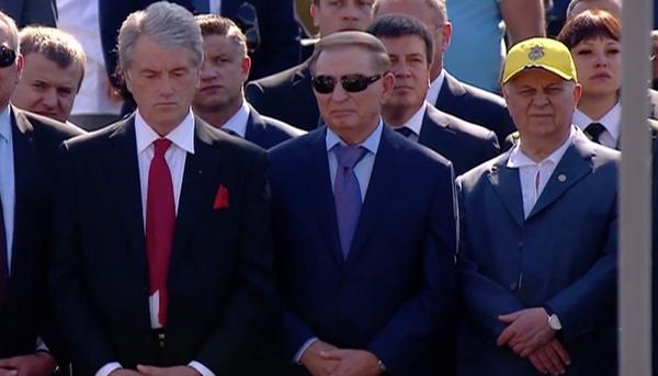 На Марш Незалежності прийшли три екс-президенти України  - фото 1