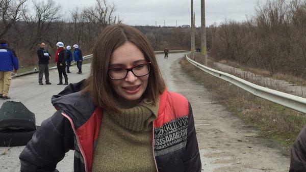 Луганську журналістку Марію Варфоломєєву звільнено з полону, - Порошенко (ФОТО) - фото 1