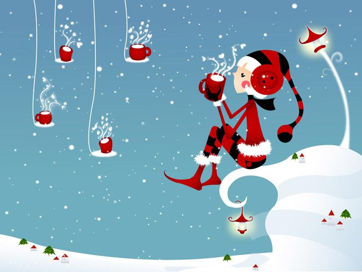 """Топ-20 несподіваних різдвяних """"шпалер"""" для робочого столу - фото 12"""