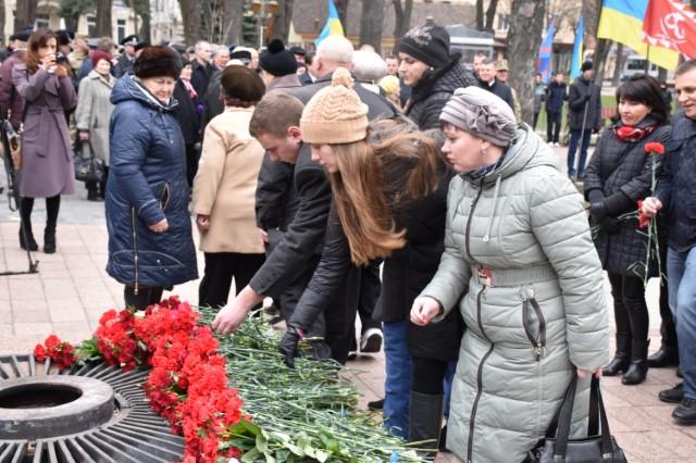 У Вінниці відзначили 72-у річницю визволення міста від фашистських загарбників - фото 3