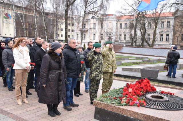У Вінниці відзначили 72-у річницю визволення міста від фашистських загарбників - фото 2