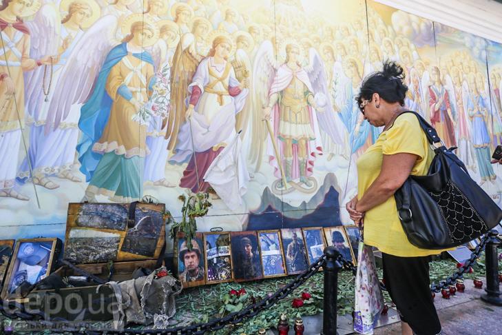 Як бійці добробатів поминали побратимів, загиблих під Іловайськом - фото 11